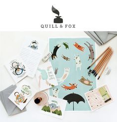 Nancy Straughan: Quill and Fox part Deux