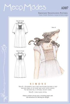 c1e1eb8963 Simone. Toni Jooss · smocking and heirloom sewing