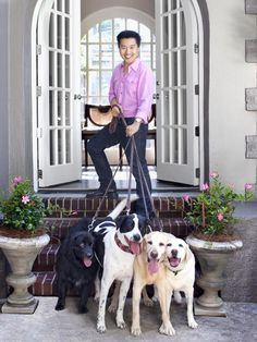 Inside Vern's Dog-Friendly Home  In HGTV Magazine, Vern Yip, HGTV Star judge, shares his tips for keeping the peace (and the furniture clean...