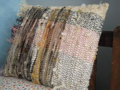 Hand Woven Cushion Natural Dyed Wool Pillow Cover