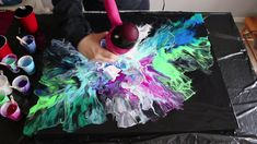 Fluid Painting with a Hair Dryer | Breaching Silence
