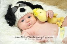 Snoopy Hat with Pilot Goggles by JLloPhotographyProps on Etsy, $30.00