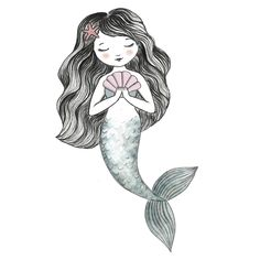 Anyone; young or old, will fall in love with this beautiful mermaid swimming round the walls of their room. She is an exclusive hand drawn original artwork for us by Anya Macleod.  She comes with other sea creature friends to create magical under the sea room for your kids. Surealism Art, Mermaid Swimming, Beautiful Mermaid, Sea Creatures, Under The Sea, Hand Drawn, Original Artwork, Whimsical, How To Draw Hands