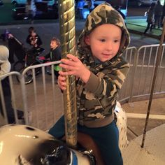 Aiden at the fair