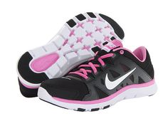 Nike Flex Supreme TR II Black/Dark Base Grey/Red Violet/White - Zappos.com Free Shipping BOTH Ways