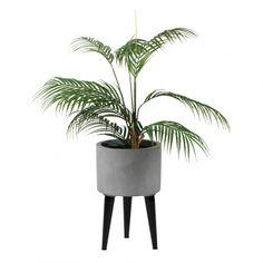 Blomsterpotte m/ben liten | Kremmerhuset 399,- Planter Pots, Vase, Vases, Jars
