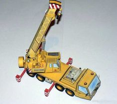 Autojerab P.W.D 4136 Crane Free Paper Model Download - http://www.papercraftsquare.com/autojerab-p-w-d-4136-crane-free-paper-model-download.html#143, #Crane, #PWD4136