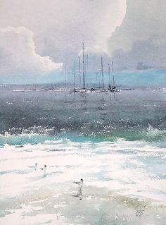 Sergey Temerev #watercolor jd