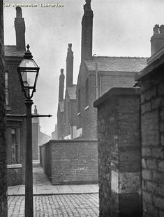Gorton, Clowes Street from Margaret Street Chimneys of Nos 144-154 A. Bradburn m23159