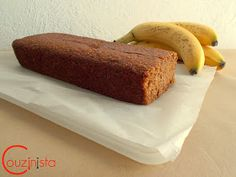 Couzinista: Light κέικ μπανάνας χωρίς ζάχαρη Banana Bread, Food And Drink, Sweets, Diet, Cooking, Desserts, Food Ideas, Recipes, Cakes