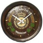 Relógio Decorativo Warsteiner. Presenteie já! $120,00 Valor em Reais