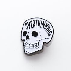Overthinking Pin