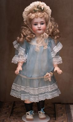 Simon Halbig and Heinrich Handwerck Doll, 1900