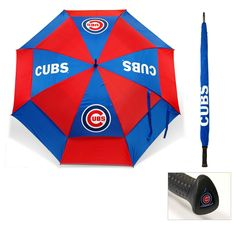 Team MLB Chicago Cubs 62-inch Double Canopy Golf Umbrella