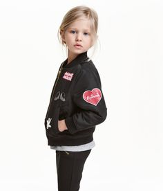Printed Pilot Jacket | H&M Kids