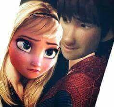 Hiccup & Elsa (Hiccelsa) Spiderman