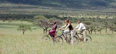 Mountain Biking, Olarro Lodge, Kenya