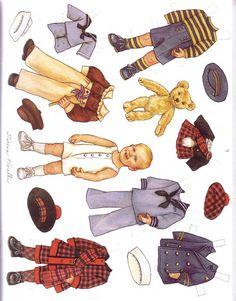 march paper doll