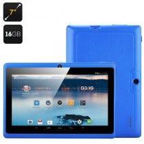 7 Inch Tablet 'Horus 16GB' - Android 4.4 OS, 1.5GHz Dual Core CPU, Mali 400MP2 GPU, OTG, Bluetooth, Wi-Fi (Blue)