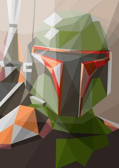 Liam Brazier's Star War's illustrations resemble origami