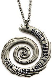 Doctor Who Wibbly Wobbly Timey Wimey Stuff Pendant Necklace- yeah, ok I need this necklace