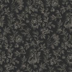 Esta tapetti Fine Flowers on tyylikäs tapetti ornamenttimaisella kukkakuosilla - Esta wallpaper Fine Flowers is a classy wallpaper with an ornamental flower pattern