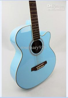 Acoustic Guitar Sky Blue.She is a beauty...Do you have your first 500 Twitter Followers? Check this out to know how… http://johneasycash67.blogspot.com/2014/01/how-to-get-your-first-500-twitter.html    Please Repin this blog post and help others