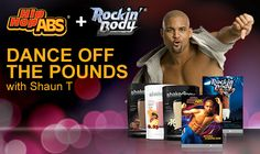 What a fun combination! Hip Hop Abs and Rockin' Body from Shaun T. the creator of Insanity along with Shakeology. There's no way to have this much fun and lose weight is there? Shaun T Workouts, Fun Workouts, Hip Hop Abs, Challenge Group, Monthly Challenge, Take All Of Me, Lose Weight, Weight Loss, Healthier You
