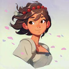 samuelyounart - Student, Digital Artist | DeviantArt Female Character Design, Game Character, Character Concept, Indivisible Game, Artist Art, Art Inspo, Painting Inspiration, Anime Characters, Illustrators