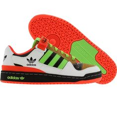 Adidas Forum Low RS Cinco (black1 / macaw / infra red) 901118 - $74.99