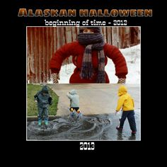 Alaskan Halloween