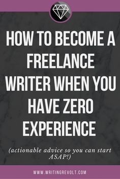 Wondering how to become a freelance writer? Well, you don't need a ton of experience to do it. Read this blog post to learn the 5 steps you should take!