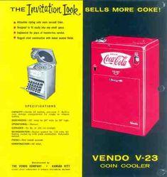 Coca Cola Vendo 23 from 1958