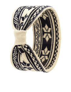 Fair Isle Sweater Knit Head Wrap: Charlotte Russe