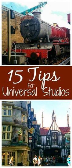 15 Tips for visiting Universal Studios Orlando and making the most of your visit!