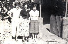 Tres amigas posando. Cedida por Ezaro.com