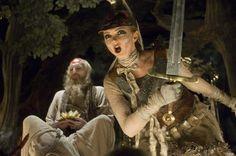 Lily Cole as Valentine in The Imaginarium of Dr Parnassus