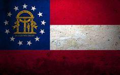 Estado de Georgia   http://fondopantalla.com.es/banderas-del-mundo