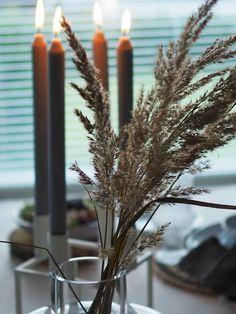 Mansikkatilan mailla: Kun en keramiikkakurssille päässyt... Marimekko, Candles, Candy, Candle Sticks, Candle