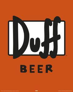 Die Simpsons - Duff Label
