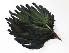 Fan  Date: 1925–35 Culture: American or European Medium: synthetic, feather, metal