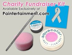 New kit designed to help non-painter volunteers create ribbon designs for charity fundraisers