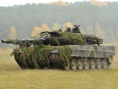 Leopard 2  Country of origin: Germany Main Armament: 120mm Rheinmetall L55 smooth bore gun Top Speed: 72km/h Cost: $5.74 million  The Leopard 2 is one of the best tanks in the world right now it is state of the art and has an impressive Rheinmetall 120mm main gun almost the exact gun currently used on the M1 Abrams, The Leopard 2 first saw combat in Kosovo with the Bundeswehr and has also seen action in Afghanistan with Danish and Canadian forces.