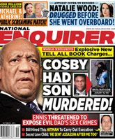 "The National Enquirer is no stranger to shocking headlines, but this week's issue will be grabbing more attention than usual in the grocery store checkout lanes! ""COSBY HAD SON MURDERED… Autumn Jackson, National Enquirer, Celebrity Scandal, Bill Cosby, Secret Love, Fake News, Reading Online, Over The Years, Funny Pictures"