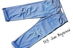DIY Jean Boyfriend