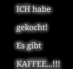 Es gibt Kaffee!