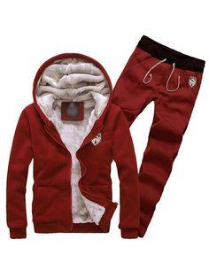 e5a0becd6f58f  Whatsmode  Onlineshopping  Mensfashion Men s Sport Cotton Jacket Pants Set   29.99 Sizes  M-L