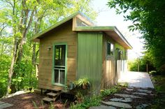 A Small, Solar-Powered House in the Blue Ridge Mountains — House Call