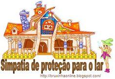 Bruxinha On-line: Simpatia para proteção do lar