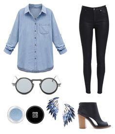 """""""Servi"""" by gabrielle-dixon ❤ liked on Polyvore featuring Forever 21, WithChic, Juliet & Company, Givenchy, women's clothing, women, female, woman, misses and juniors"""